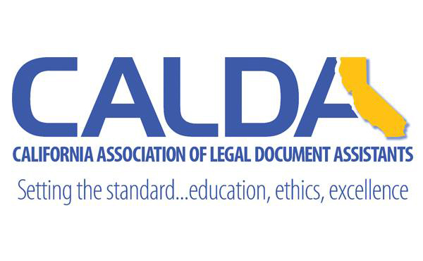 California Association of Legal Document Assistants logo